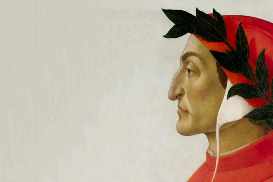 foto Dante Alighieri maestro di scrittura